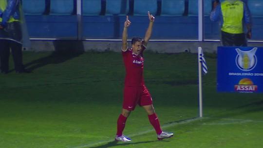 Veja os gols da vitória do Internacional sobre o Avaí na Ressacada