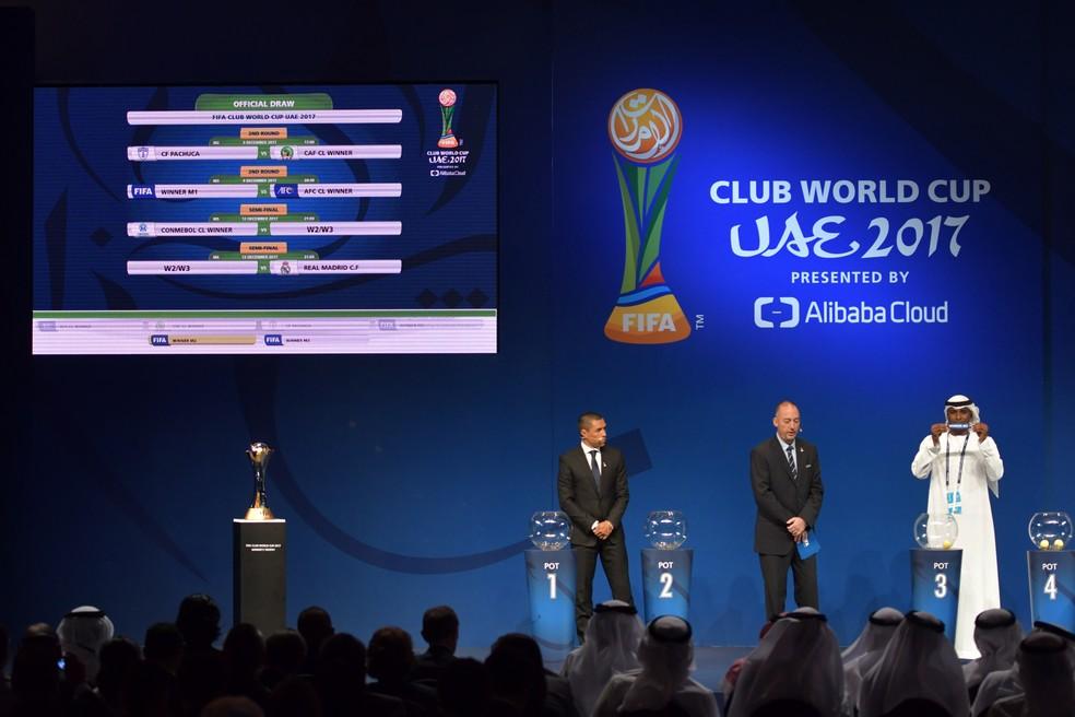 Sorteio Mundial de Clubes (Foto: AFP)