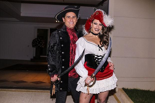 César Filho e Elaine Mickely (Foto: Thiago Duran)