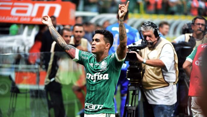 Palmeiras x Santos Dudu (Foto: Marcos Ribolli)