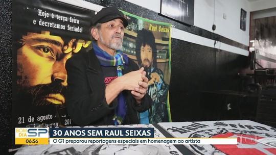 Morte de Raul Seixas faz 30 anos e a cidade de SP ainda tem marcas de sua história