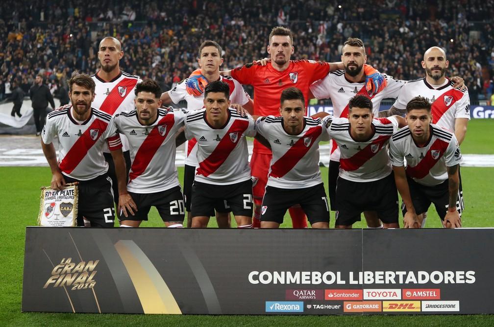 River Plate x Boca Juniors Final Libertadores Santiago Bernabéu — Foto: REUTERS/Sergio Perez