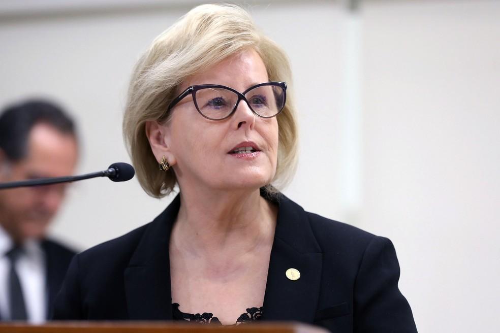 A presidente do TSE, ministra Rosa Weber — Foto: Roberto Jayme/Ascom/TSE