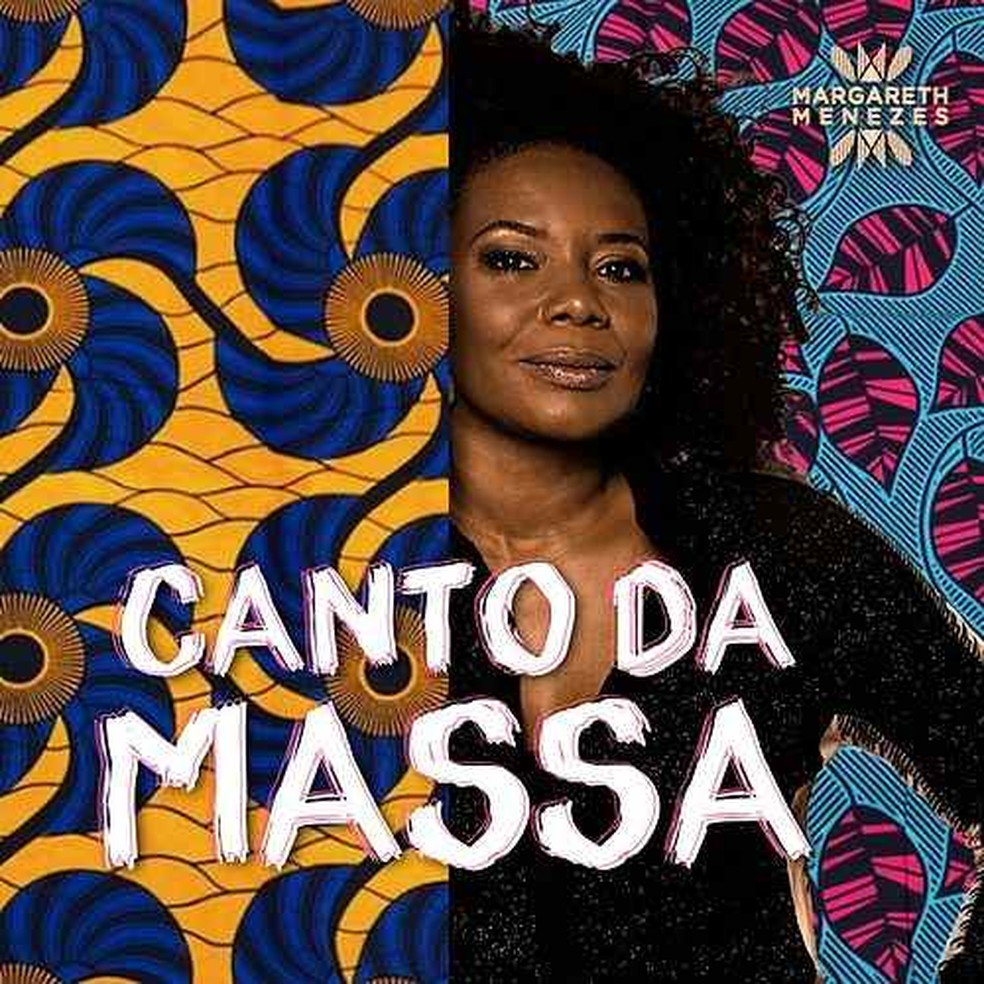 Capa do single 'Canto da massa', de Margareth Menezes — Foto: Divulgação