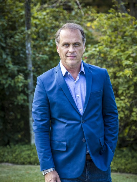 Guilherme Fontes em 'Órfãos da terra' (Foto: Paulo Belote/TV Globo)