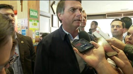 Bolsonaro volta a criticar divulgação de dados sobre desmatamento