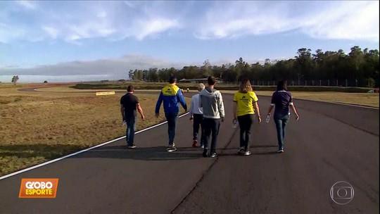"""Stock Car: em Santa Cruz do Sul, pilotos explicam importância do """"track walk"""""""