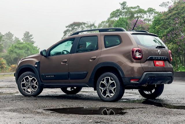 Comparativo: O novo Renault Duster (na foto) encara seu rival histórico Ford Ecosport, além dos três modelos mais vendidos: Renegade, Creta e Kicks (Foto: Leo Sposito)