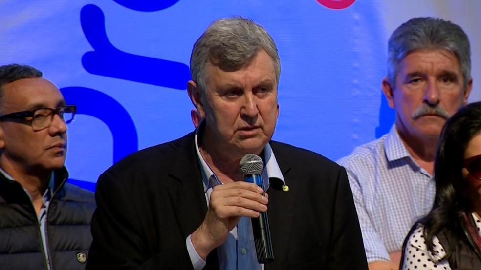 Luis Carlos Heinze é candidato ao Senado pelo PP (Foto: Reprodução/RBS TV)