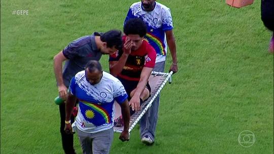 """Calmo, Hernane Brocador fala sobre lesão: """"O campeonato já está resolvido, eu estou tranquilo"""""""