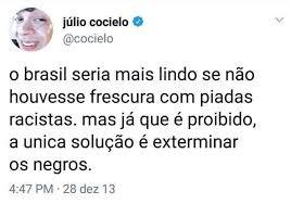 Julio Cocielo: o youtuber apagou milhares de comentários racistas em sua página no Twitter (Foto: Reprodução)