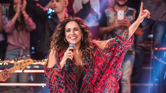 Daniela Mercury se apresenta com duo italiano I Koko no 'Altas Horas'