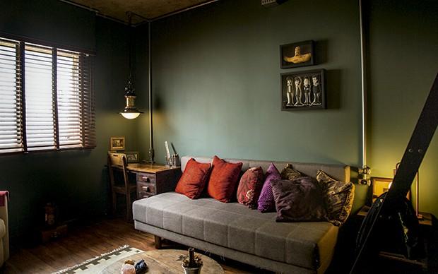 Lifestyle decor - O quarto onde abre tarô e detalhe do décor (Foto: Rogério Voltan)