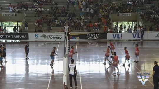 4ª Copa TV Tribuna de Vôlei Escolar começa neste sábado, no Sesc, em Santos