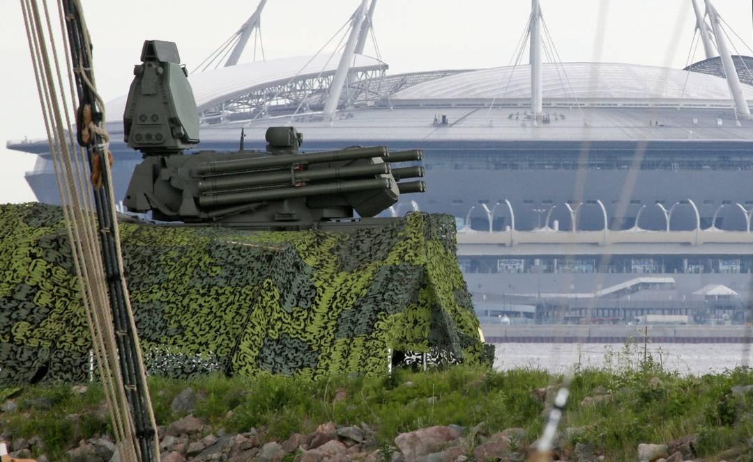 Sistema de mísseis antiaéreos