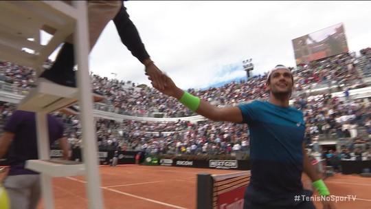 Matteo Berrettini vence e avança para as oitavas de final no Masters 1000 de Roma
