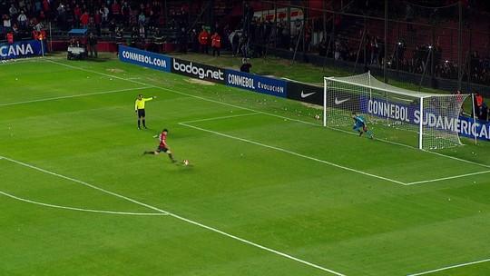 Veja como foi a disputa de pênaltis que terminou com a eliminação do São Paulo