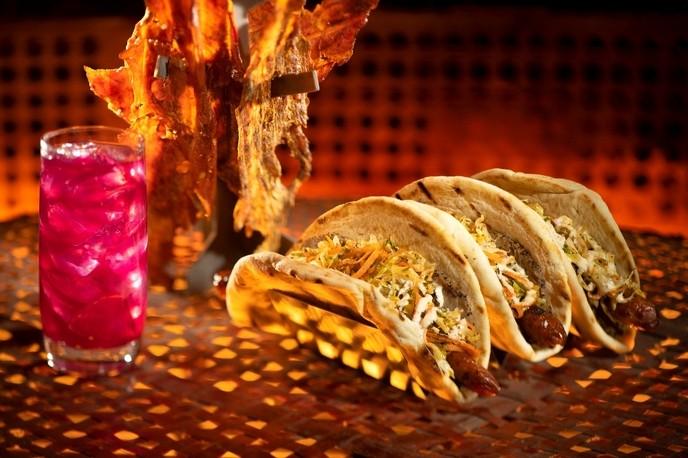 Wrap de peru do restaurante de Star Wars Ronto Roasters (Foto: Disney Parks/Divulgação)