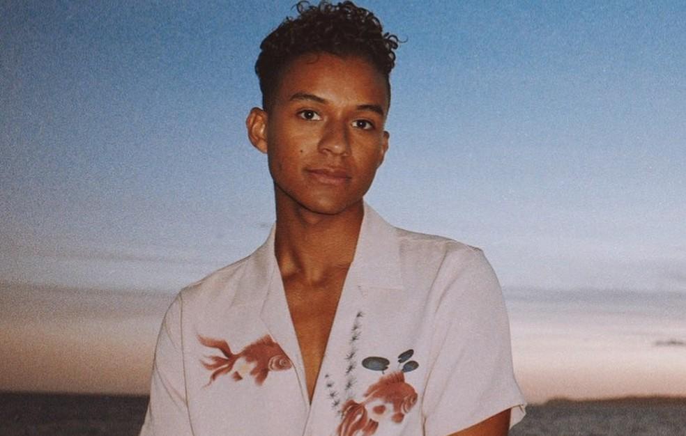 Jaafar Jackson, sobrinho de Michael Jackson — Foto: Reprodução/Instagram