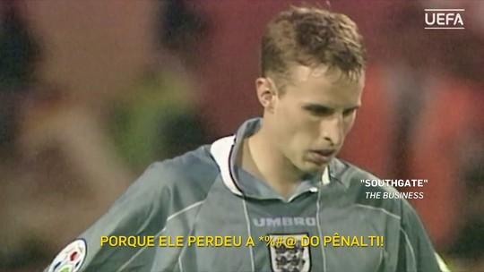 """Gesto de técnico da Inglaterra com colombianos revive pênalti perdido há 22 anos: """"Aprendi milhões de coisas"""""""