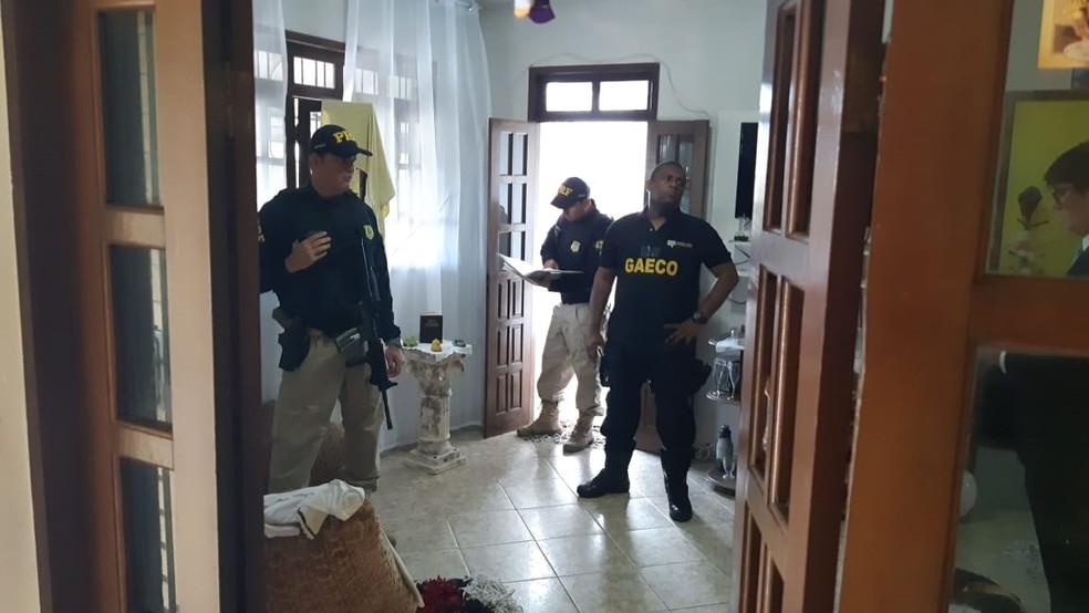 Operação foi deflagrada na manhã desta quinta-feira — Foto: Divulgação/PRF