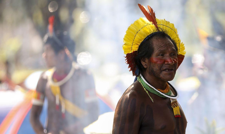 Indígena Yanomami (Foto: Marcelo Camargo/Agência Brasil)