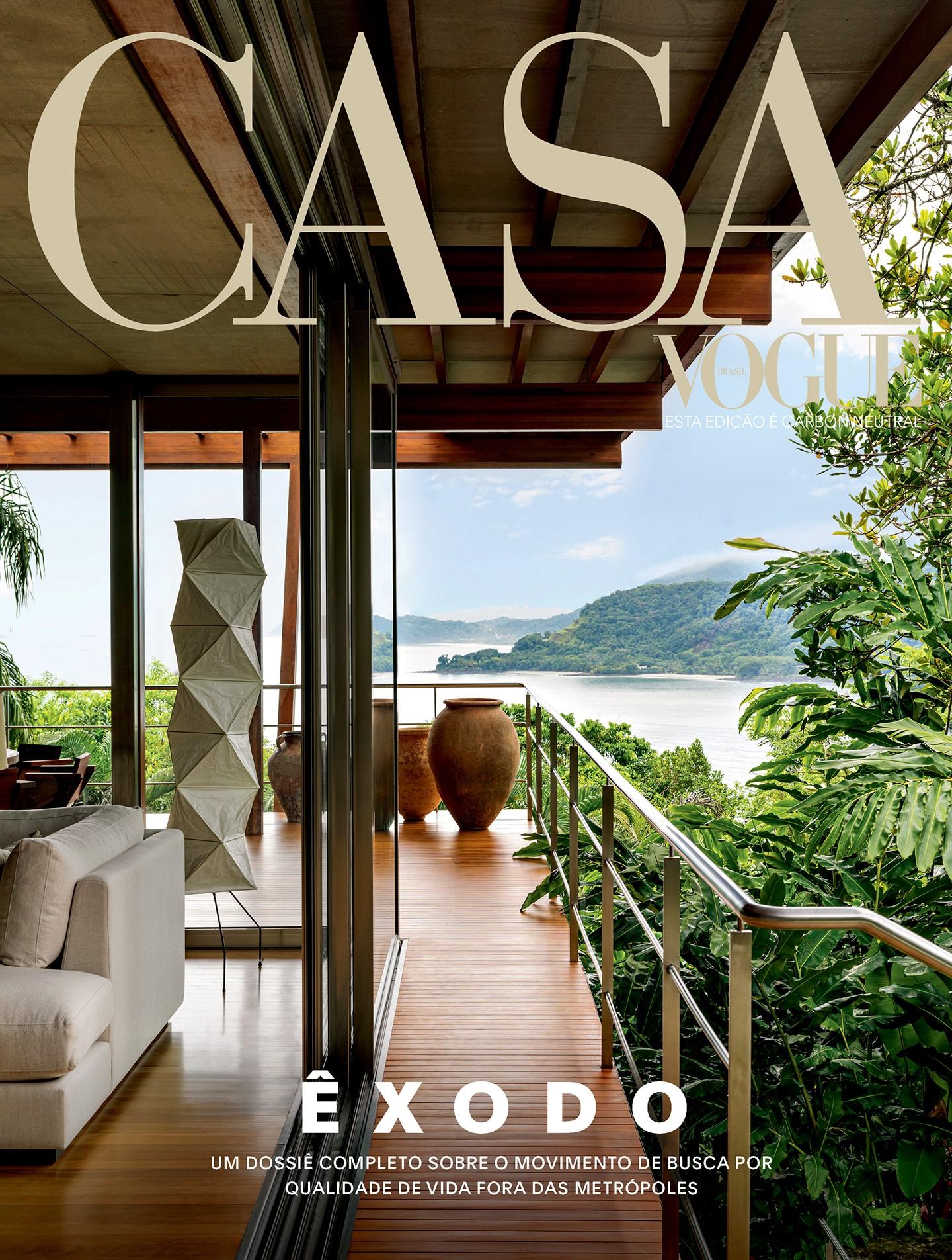 Casa Vogue de setembro fala sobre morar com qualidade de vida  (Foto: Fran Parente)