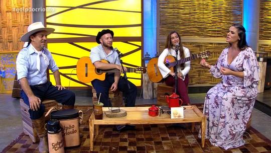 'Galpão Crioulo' comemora mês da mulher em programa especial; confira os vídeos