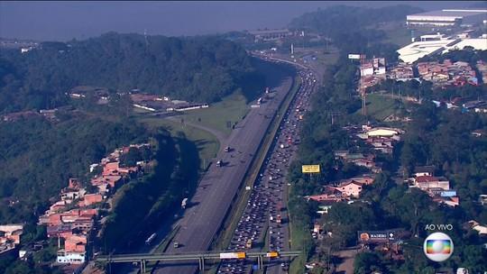 Estradas de São Paulo apresentam grande movimentação