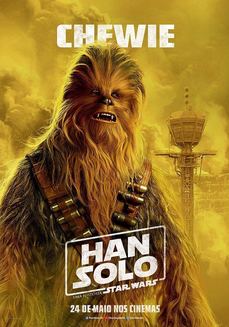 Joonas Suotamo vive Chewbacca em novo filme de Star Wars (Foto: Divulgação)