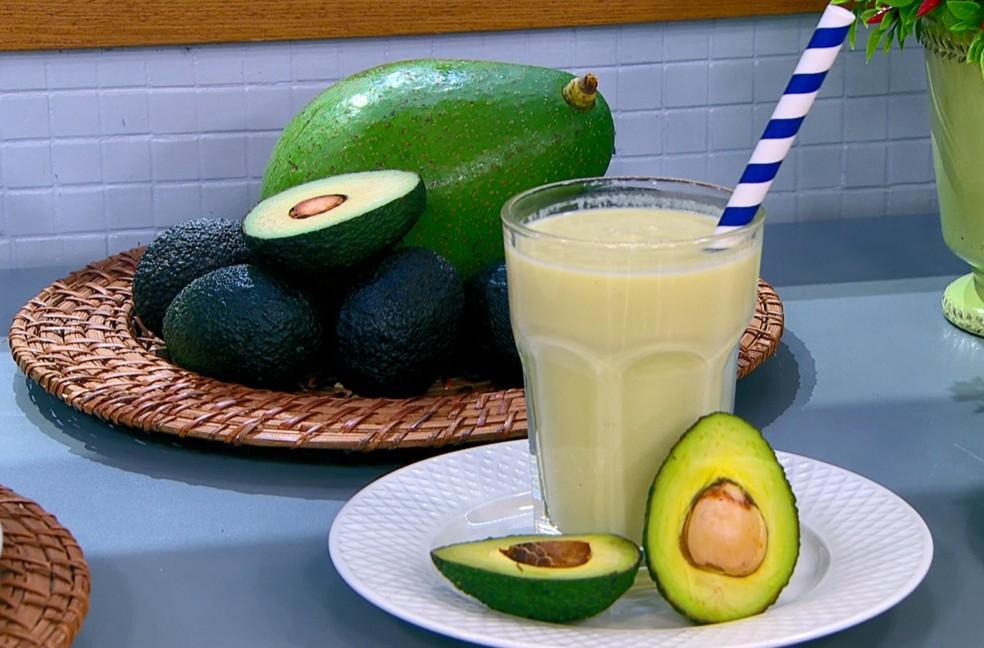 Abacate: uma boa opção — Foto: Reprodução/TV Globo