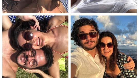 Fátima Bernardes define namoro com Túlio Gadêlha: 'Um amor puro'