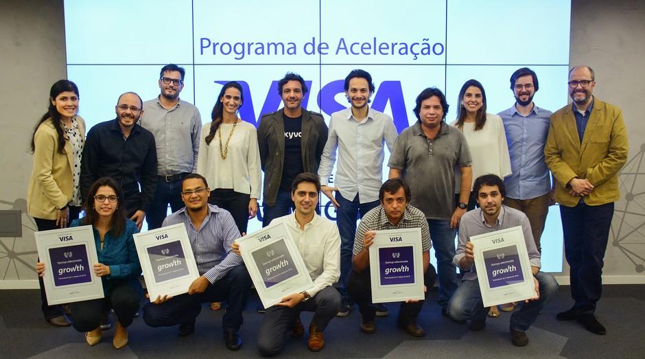 Startups são selecionadas para programa de aceleração da Visa (Foto: Divulgação)