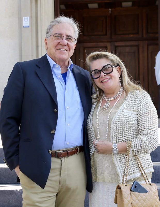 Italo e Nadia, pais de Karina Bacchi (Foto: Manuela Scarpa/Brazil News)