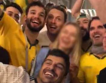 Vídeo em que brasileiros assediam russa