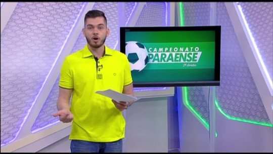 Veja a íntegra do Globo Esporte Pará deste sábado, dia 17