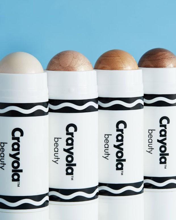 Crayola lança coleção de maquiagens que é pura nostalgia (Foto: Reprodução)