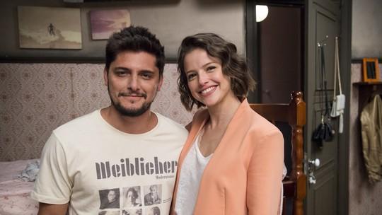 Bruno Gissoni comenta par romântico com a cunhada Agatha Moreira: 'Profissionalismo puro'