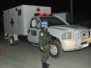 Tenente Paula: haiti (Foto: Divulgação/Forças Armadas Brasileiras)