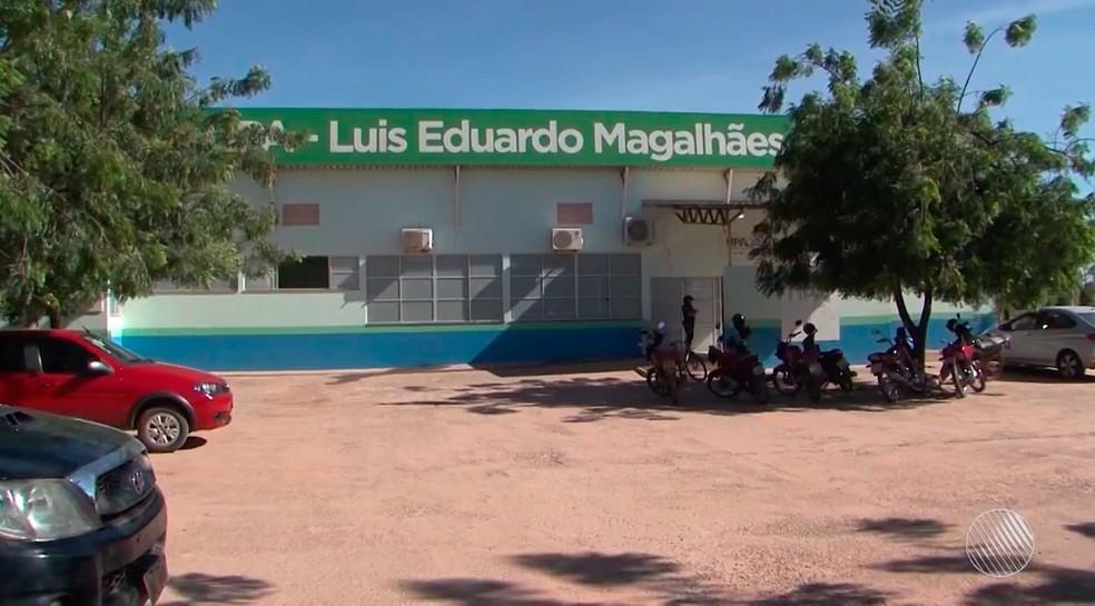 Vítima foi socorrida para a UPA de Luís Eduardo Magalhães (Foto: Reprodução / TV Oeste)