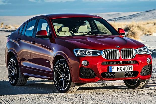 BMW X4 ainda está na geração anterior, mas é bem rápido (Foto: Divulgação)
