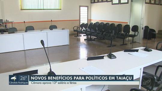 Câmara aprova 13º para vereadores, prefeita e vice, e é criticada pela população em Taiaçu, SP