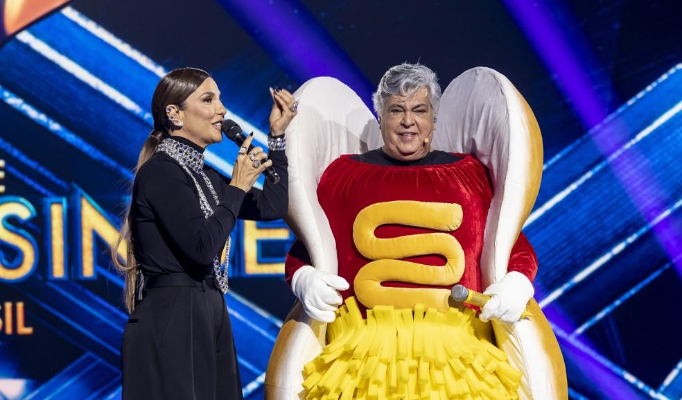 2021.08.10. ep01 fotoselim 2014 1565 - Sidney Magal é o primeiro desmascarado do 'The Masked Singer Brasil'