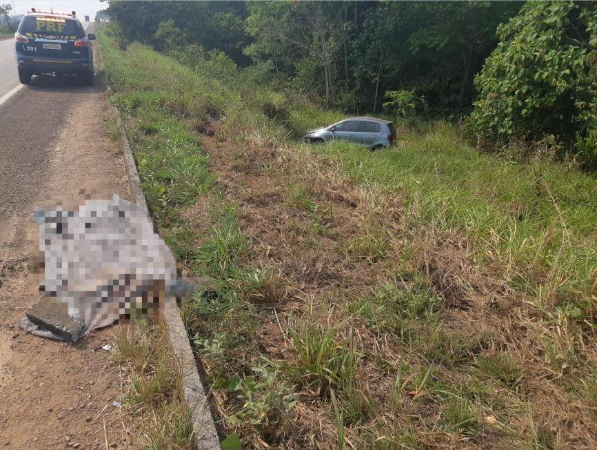Homem morre atropelado na BR-364 próximo a Vista Alegre do Abunã, RO - Notícias - Plantão Diário