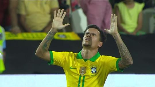 Brasil volta a marcar um gol de falta em cinco anos e depois de 72 jogos