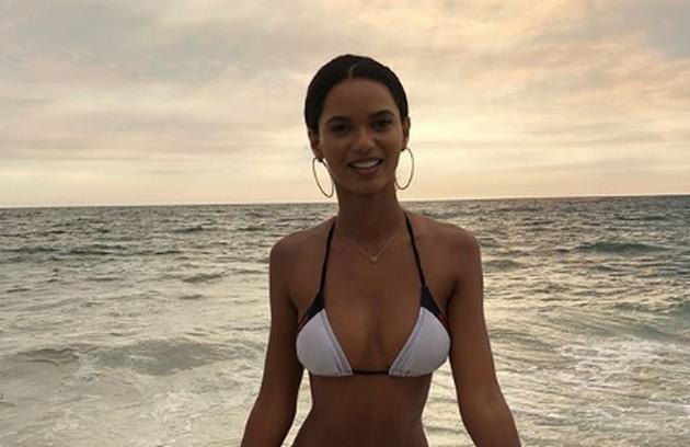 Ela é atriz, modelo e embaixadora da L'Oréal Paris  (Foto: Reprodução Instagram)