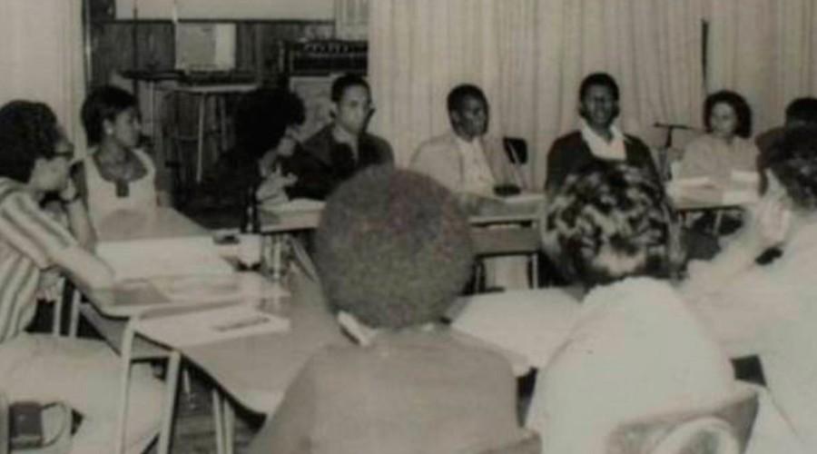 Primeiro ato evocativo do Grupo Palmares, no dia 20 de novembro de 1971
