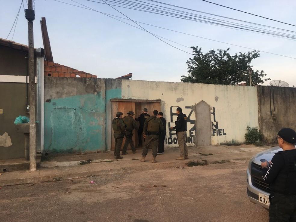 Operação policial prende 9 pessoas em Parauapebas, no Pará. — Foto: Reprodução / Agência Pará