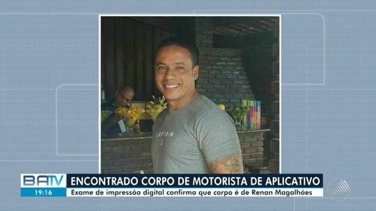 Corpo achado em Serrinha é de motorista de aplicativo que estava desaparecido