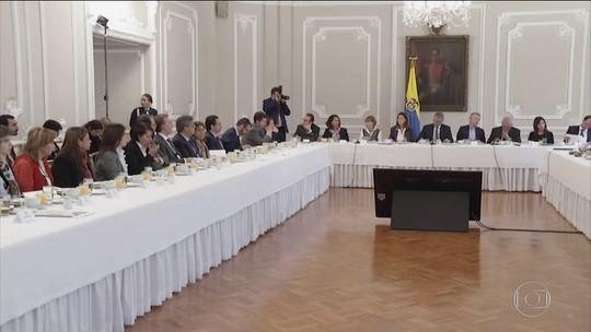 Líderes de protestos na Colômbia convocam nova greve nacional